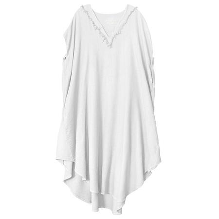 Nico Nico Dey Kaftan Dress - White