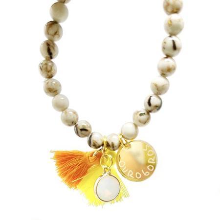 Atsuyo Et Akiko Ouroboros Star Bracelet - Gold