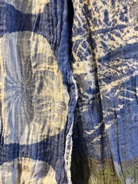 L'étol Angelina celeste Scarf - blue