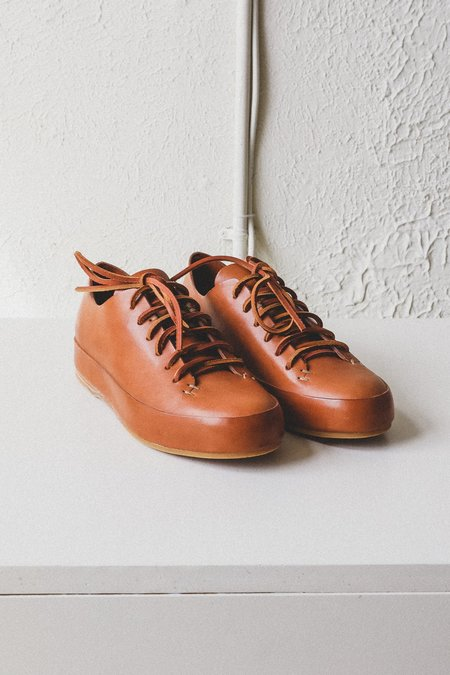 FEIT HAND SEWN LOW SNEAKERS - TAN