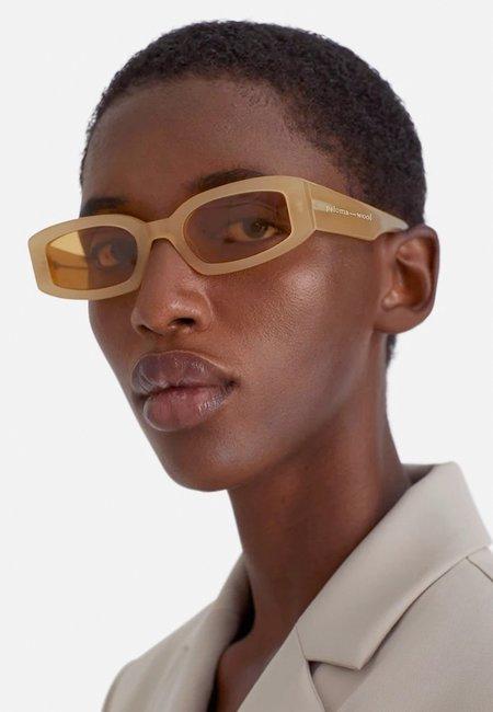 Paloma Wool Boavista Sunglasses - ecru