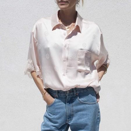 Martine Rose Klene Shirt - Light Pink