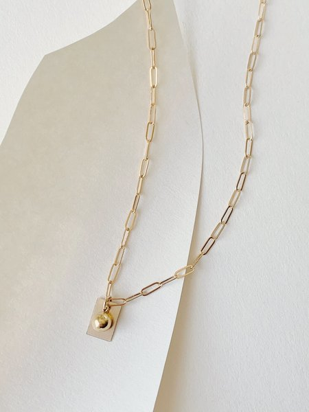 HighLow Dimensions Necklace - Gold