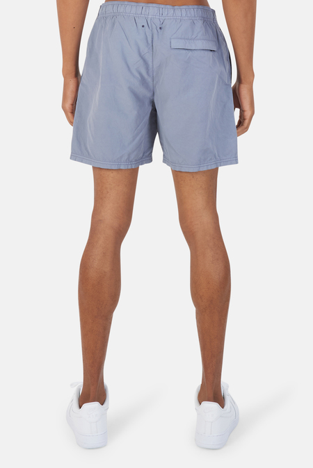 Stone Island Garment Dyed Swim Shorts - Blue