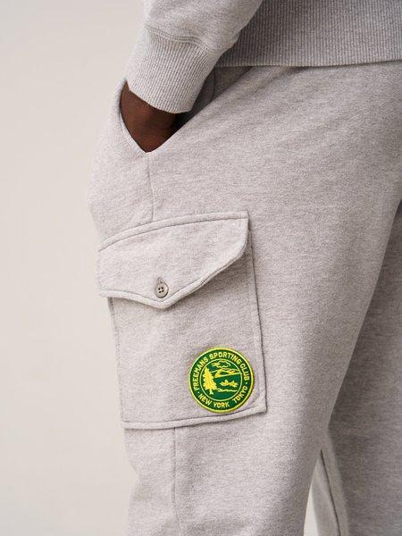 Freemans Sporting Club Fleece Cargo Pant - Heather Grey