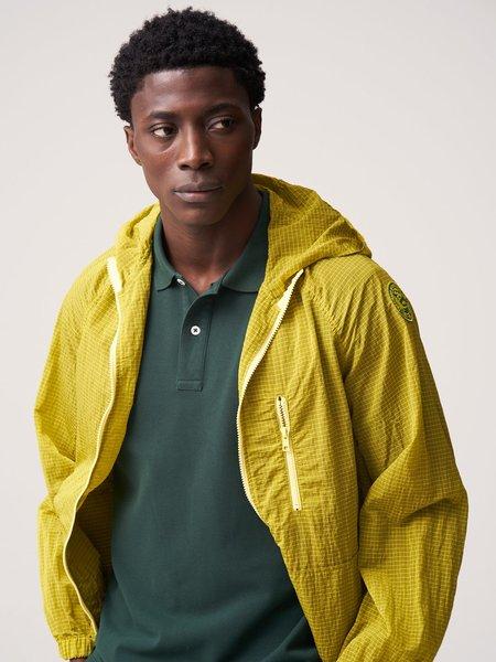 Freemans Sporting Club Hooded Rain Jacket - Yellow