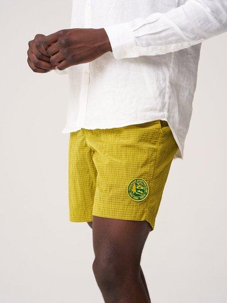 Freemans Sporting Club Running Short - Yellow