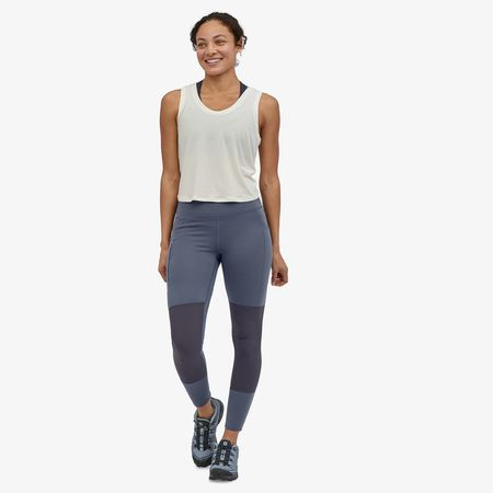 Patagonia Pack Out Hike Tights - Smolder Blue