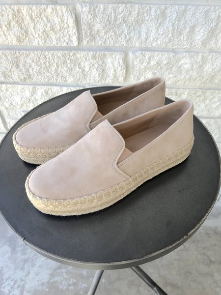 VINCE UPTON ESPADRILLE SNEAKERS - CAPPUCCINO