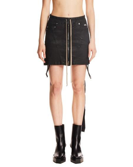 Rick Owens Drkshdw Miniskirt With Drawstring