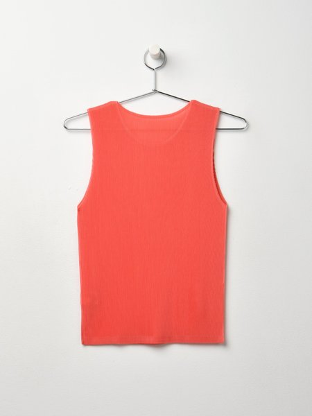 Pleats Please By Issey Miyake Mist May Sleeveless - Coral Pink