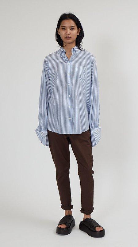 Hope Brave Shirt - Blue Stripe