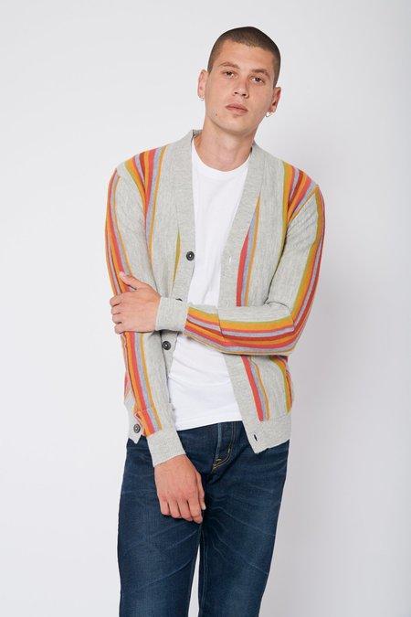 PROPAGANDA AGENCY Vintage Stripe Cardigan