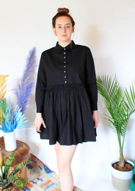 Olympia Etal Remy Dress - black