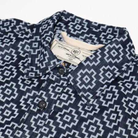 Rogue Territory BM Shirt - Indigo Santa Fe