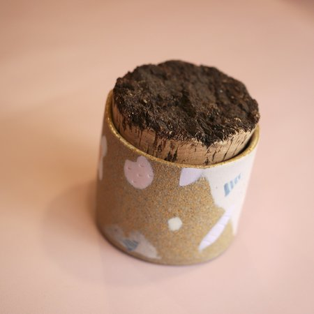 Knotwork LA Canister with Cork Lid