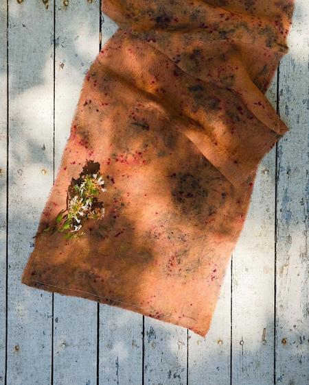 Soil to Studio Plant Dyed Table Runner - MULTI