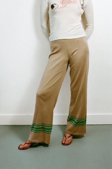 BASERANGE Boat Pants - Brown/Green