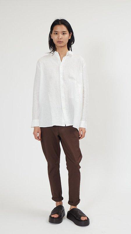 Hope Elma Linen Shirt - Off White