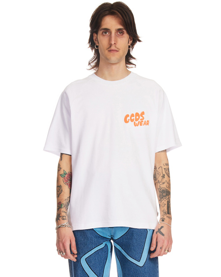 GCDS Rick and Morty T-shirt - White