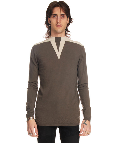 Rick Owens Crewneck Sweater with Graphics
