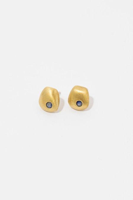 Yuun Bune Earrings - Brass