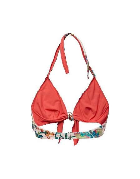 La Double J Tree of Life Bow Bikini Top