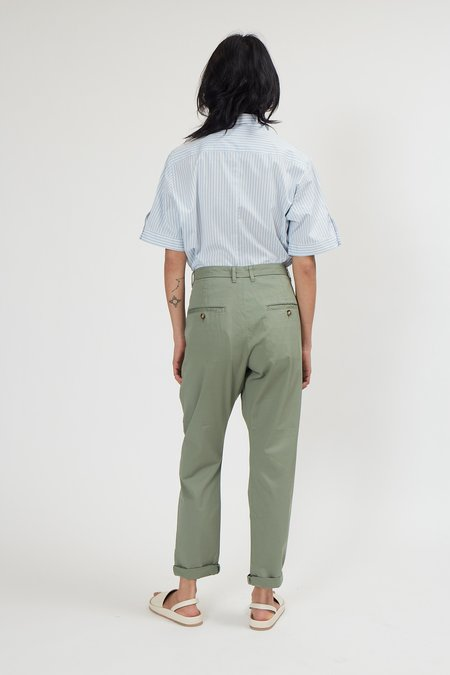 Hope News Edit Trouser - Pale Green