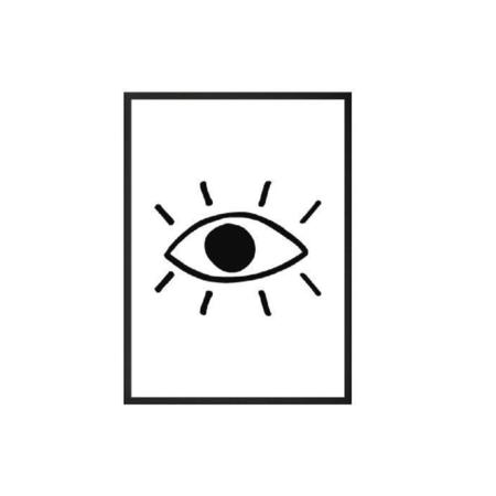 Organic Zoo Eye Poster