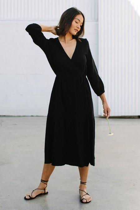 Rachel Pally Gauze Dania Dress - Black