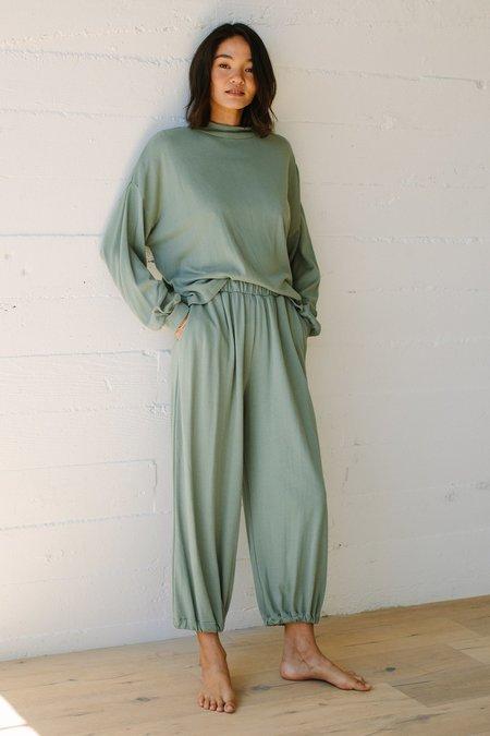 Rachel Pally Hemp Sweater Rib Tatum Pant - Coriander