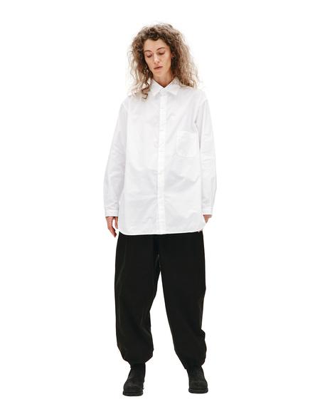 Yohji Yamamoto Chest Pocket Cotton Shirt - White