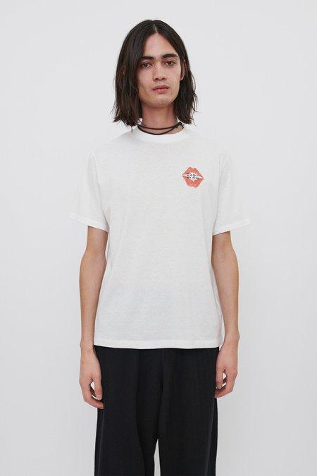 Our Legacy Box T-Shirt - White/Signature Kiss Print