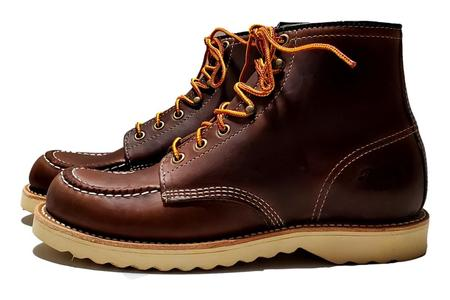 Thorogood Janesville Moc Toe shoes - Brown