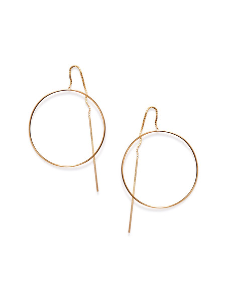 By Boe Pinned Circle earrings