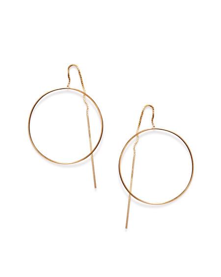 By Boe Pinned Circle earrings