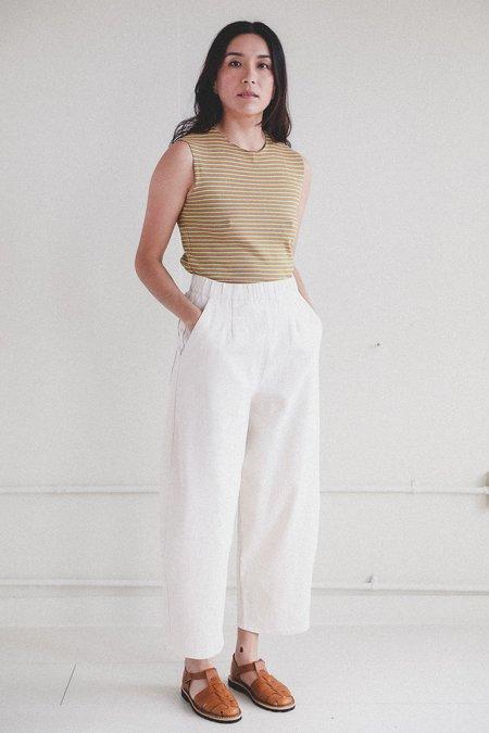 Micaela Greg Barrel Pants - Cream