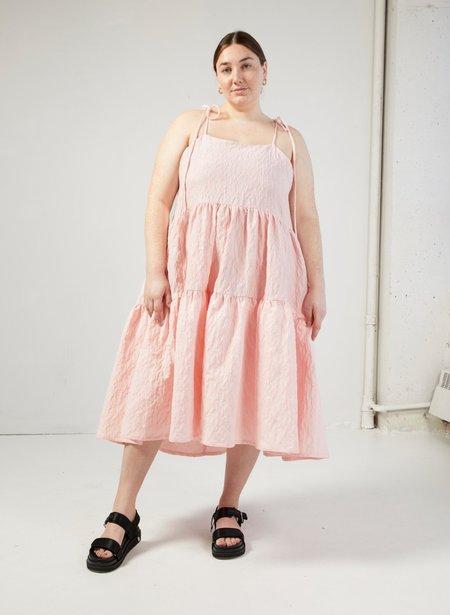 Eliza Faulkner Cece Dress - Pink Jacquard