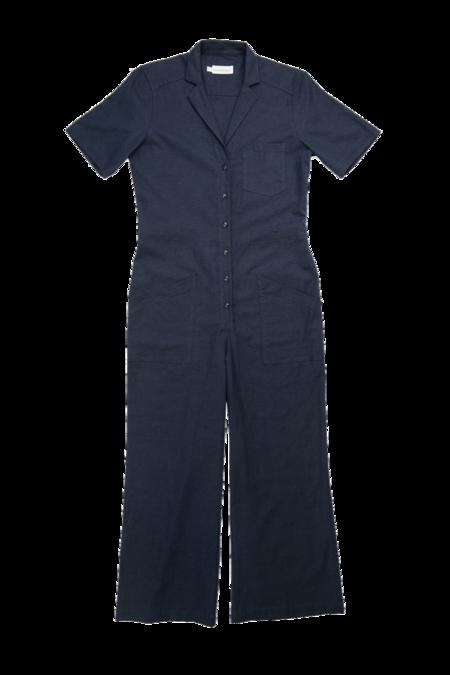 Bridge & Burn Lou jumpsuit - Navy Linen