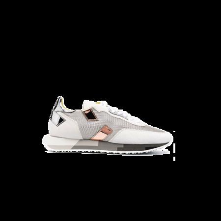 Ghoud Rush Multi Low Sneakers - White/Silver