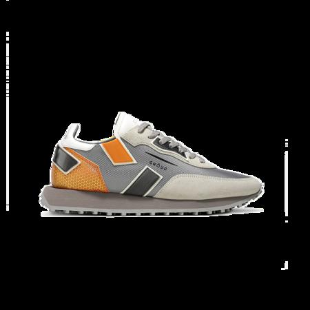 Ghoud Rush One Low Sneakers - Grey/Orange
