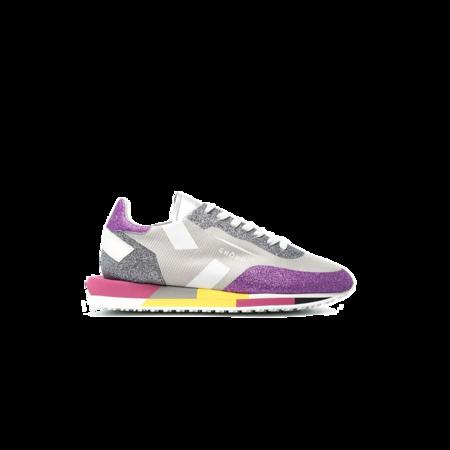 Ghoud Star Low Sneakers - Grey/Violet