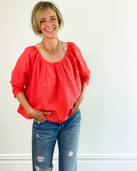 Atelier Delphine Afton Top - Scarlet