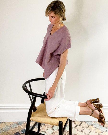 Atelier Delphine Celeste Top - Lavender