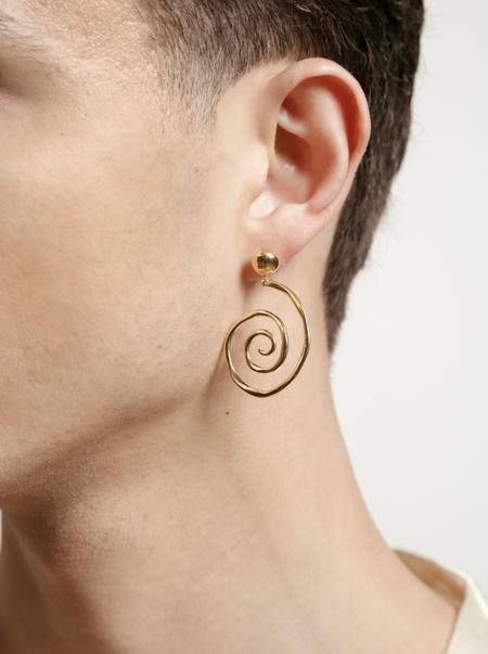 Wolf Circus Venus Earrings - Gold