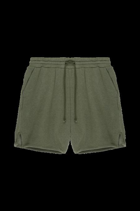 Donni Vintage Fleece Shorts - basil