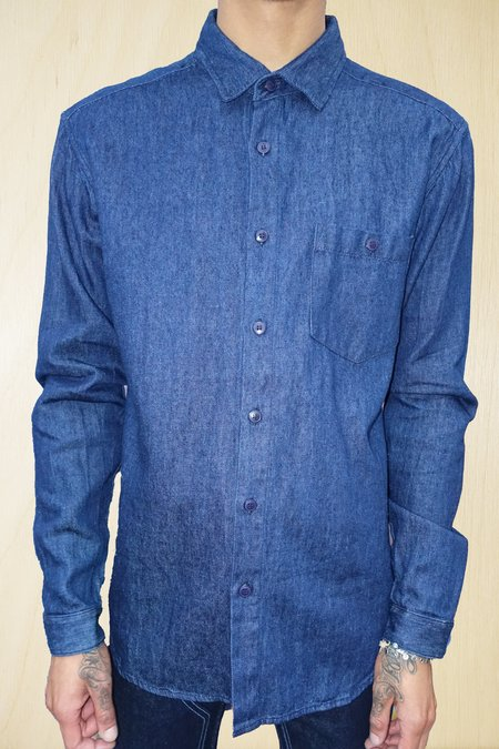 Jungmaven Hemp Ojo Shirt - Denim