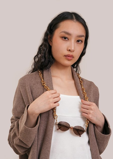 The Series #2 Glasses Chain - Gold