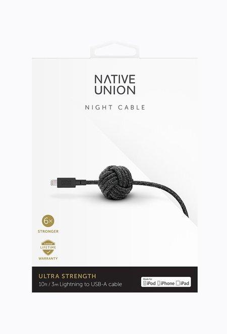 Native Union Night Cable - Cosmos Black
