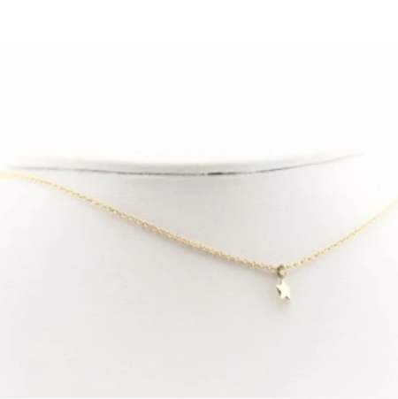 Slate Small Star Necklace